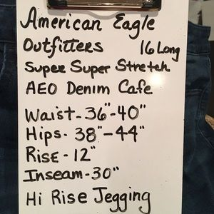 American Eagle Outfitters Jeans - AEO High Rise Jeggings